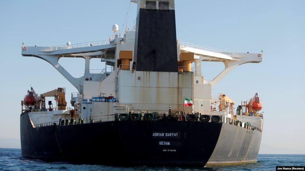 """ირანულ ნავთობმზიდ """"გრეის 1""""-სთვის ნებისმიერი დახმარების აღმოჩენას ვაშინგტონი ტერორისტული ორგანიზაციის მხარდაჭერად განიხილავს"""