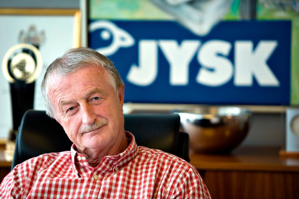 """ავეჯის მაღაზია """"იუსკის"""" დამფუძნებელი ლარს ლარსენი 71 წლის ასაკში გარდაიცვალა"""