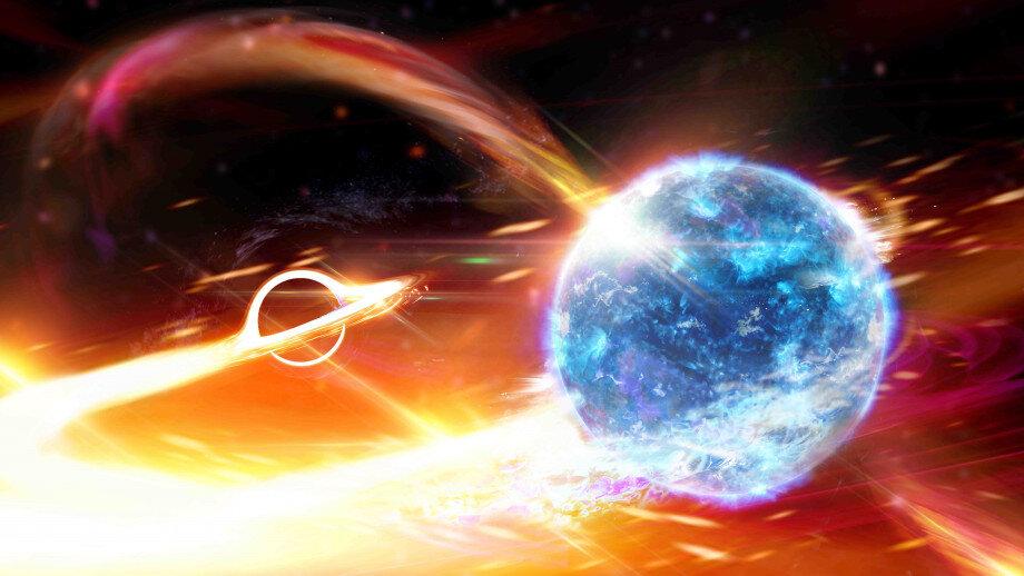 აღმოჩენილია შავი ხვრელი, რომელმაც ნეიტრონული ვარსკვლავი გადაყლაპა - პირველად ისტორიაში