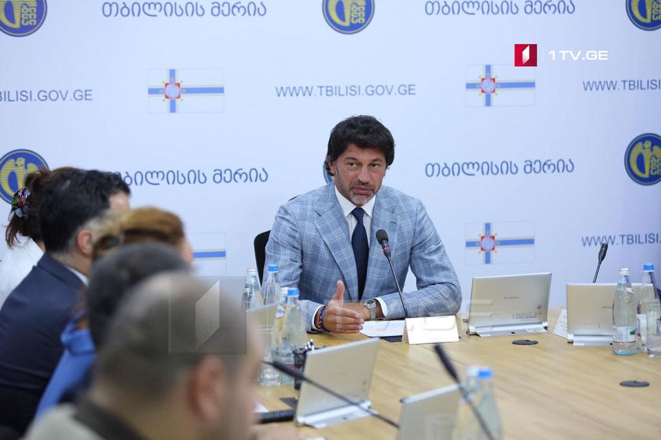 Каха Каладзе - В Варкетили появится футбольный комплекс международных стандартов