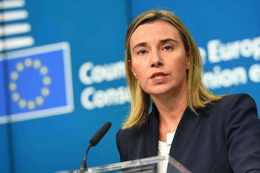 ЕС распространяет заявление о телефонном разговоре Федерики Могерини с министром иностранных дел Грузии Давидом Залкалиани