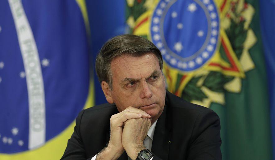 ბრაზილიის პრეზიდენტმა ამაზონის ტყეში ხანძრის გაჩენაში არასამთავრობო ორგანიზაციები დაადანაშაულა