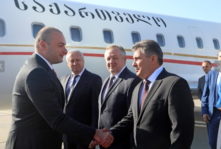 Georgian PM begins official visit in Belarus (Photo)