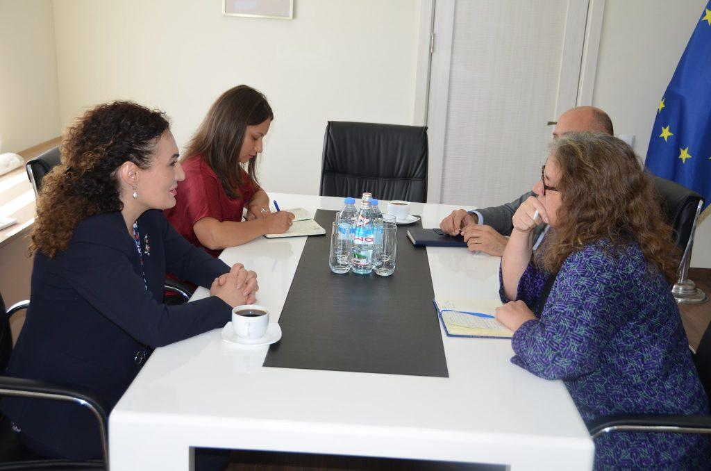 Кетеван Цихелашвили встретилась с постоянным координатором ООН в Грузии