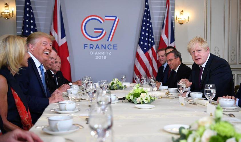 Дональд Трамп - С Великобританией будет подписано большое торговое соглашение