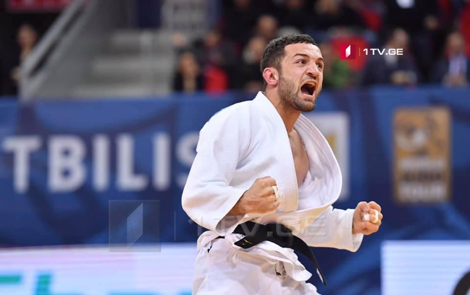 Georgian judoka Lukhum Chkhvimiani won Gold Medal at the WorldJudoChampionships Tokyo2019