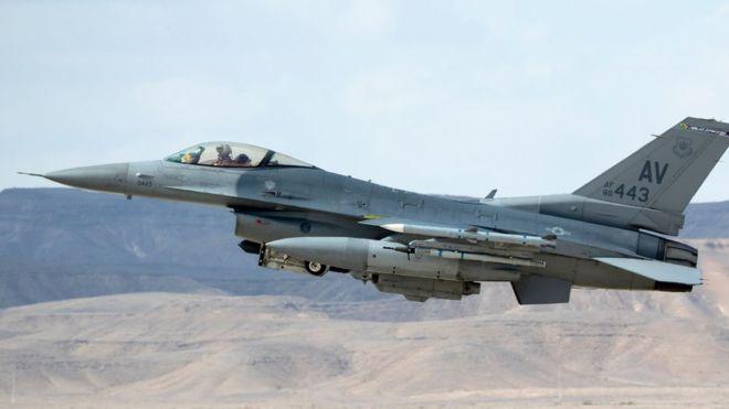 İsrail aviasiyası Suriyada yerləşən İran hərbi obyektlərinə hücum endirdi