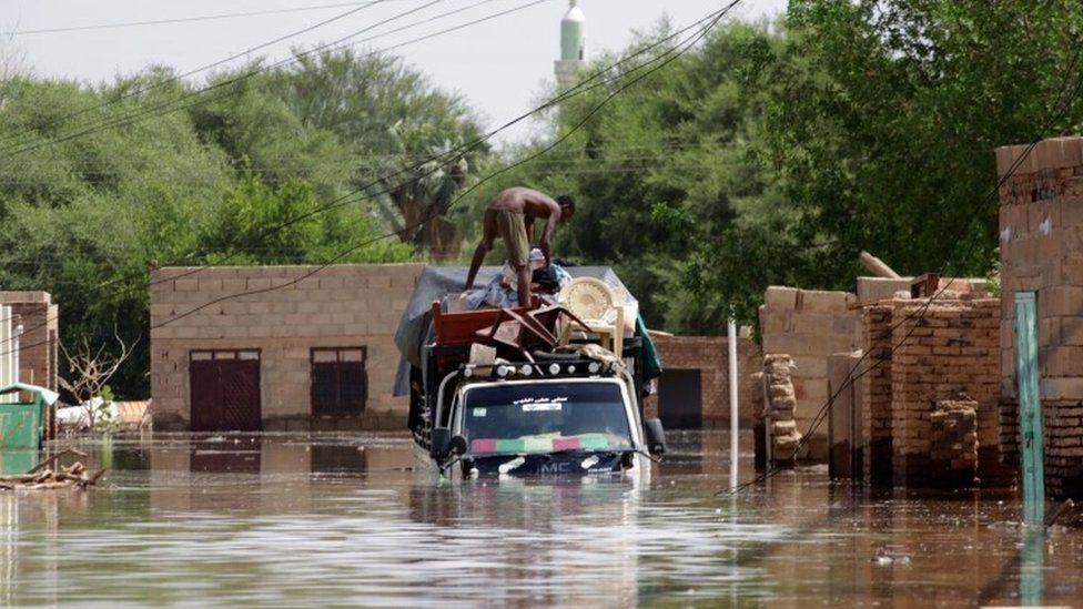 სუდანში წყალდიდობა სულ მცირე 60 ადამიანის სიცოცხლე ემსხვერპლა