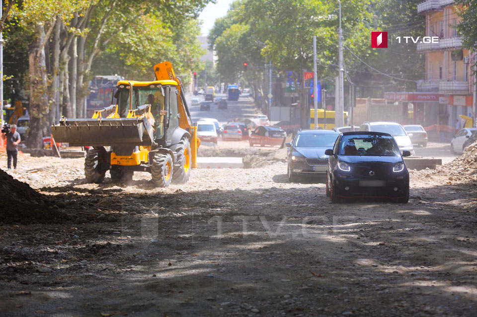 Traffic movement on Chavchavadze Avenue to be restored from September 15