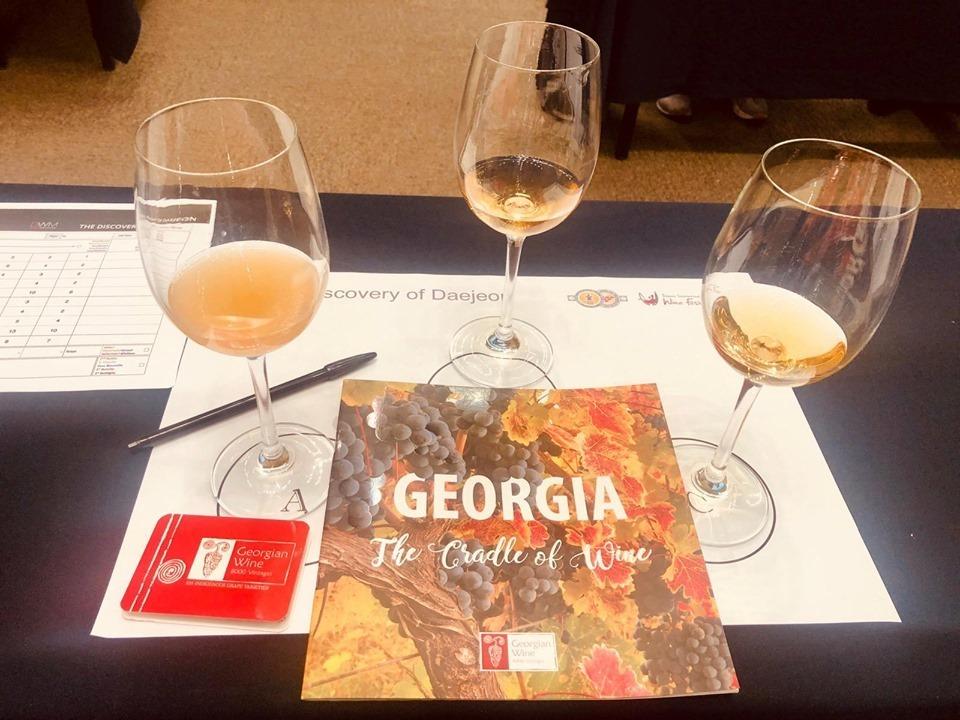 ქართული ქარვისფერი ღვინოები კორეაში წარადგინეს