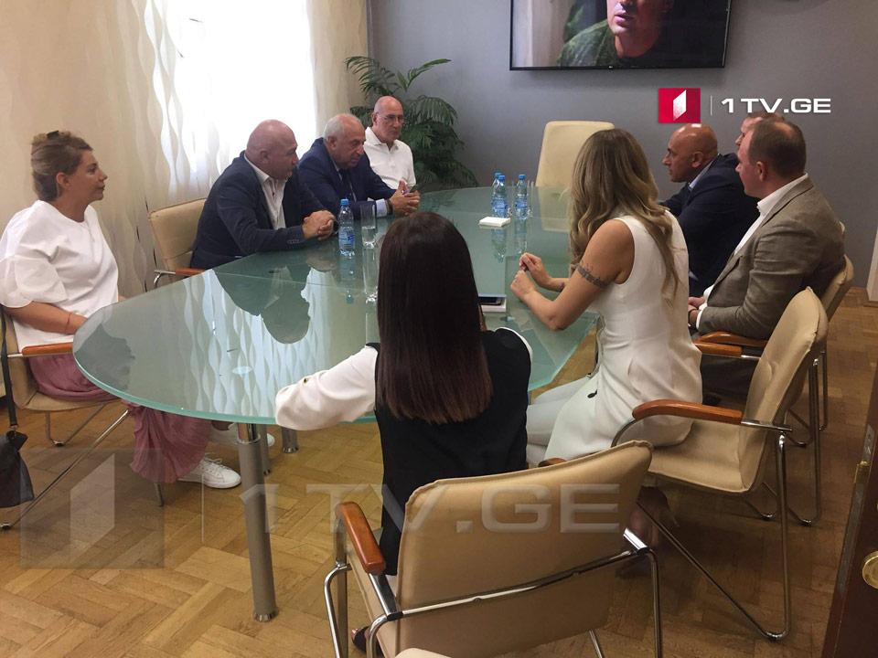 Председатель Общественного вещателя Беларуси принял директора Первого канала Грузии