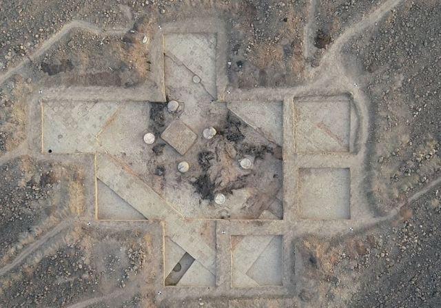 ალაზნის ველზე დაახლოებით ძვ.წ.აღ. V-IV საუკუნეების სასახლის ნაშთები აღმოაჩინეს - ეროვნული მუზეუმი ფოტოებს ავრცელებს