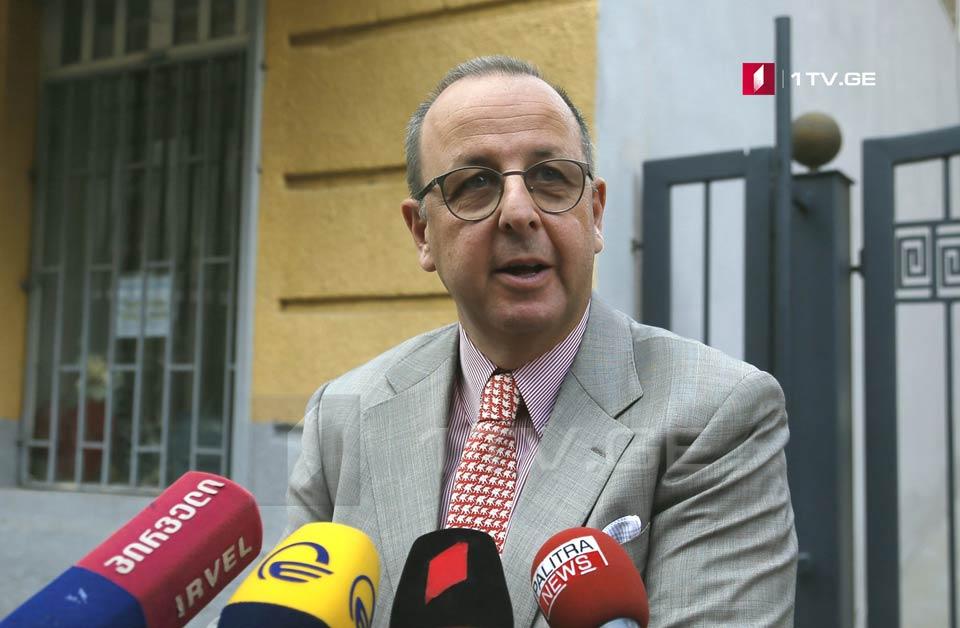 Антонио Бартоли - на встрече с лидерами оппозиции мы отметили, что их действия должны оставаться в рамках закона