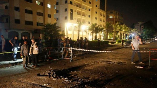 ღაზის სექტორში აფეთქების შედეგად სამი ადამიანი დაიღუპა