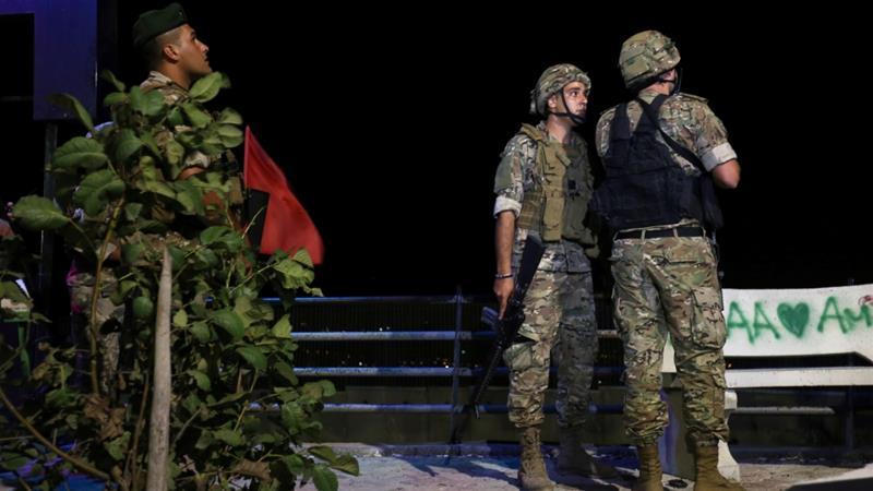ლიბანის არმიამ ისრაელის დრონებს ცეცხლი გაუხსნა