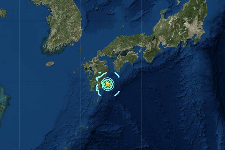 Ճապոնիայում տեղի է ունեցել 6.1 մագնիտուդ ուժգնությամբ երկրաշարժ