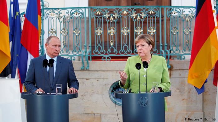 გერმანიის კანცლერმა და რუსეთის პრეზიდენტმა ტელეფონით ისაუბრეს