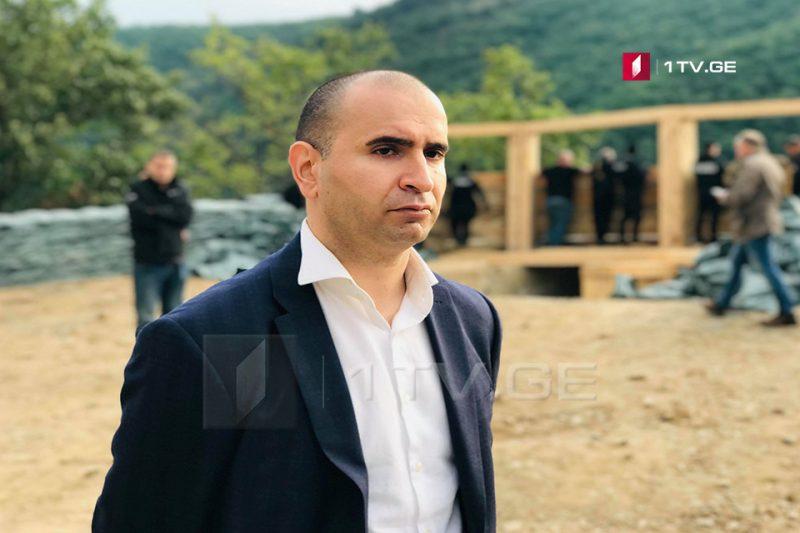 Кахабер Кемоклидзе - Пост у села Чорчана остается на месте