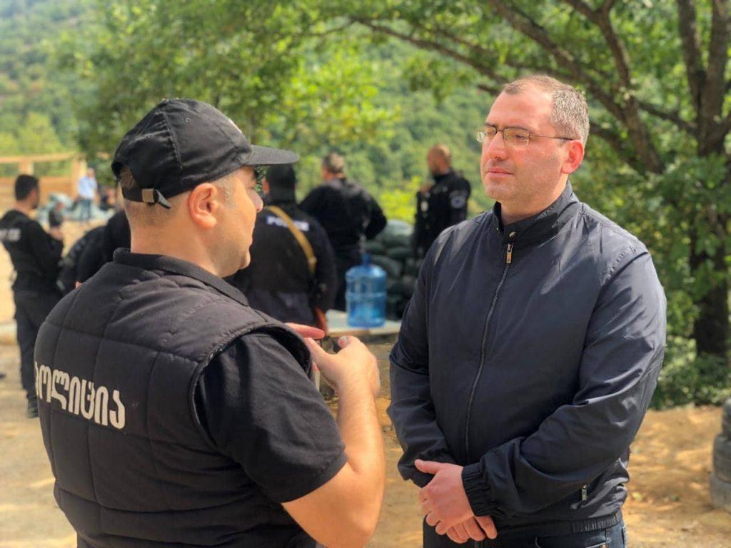 Владимир Борцвадзе - Ситуация у села Чорчана стабильная и подлежит контролю