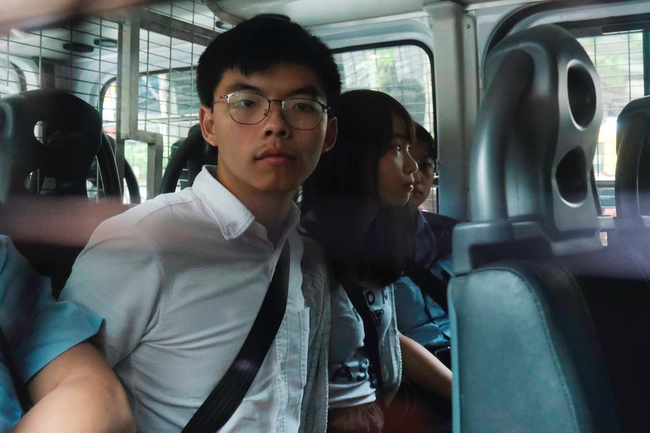 ჰონგ-კონგში საპროტესტო აქციების ლიდერს ბრალი წაუყენეს