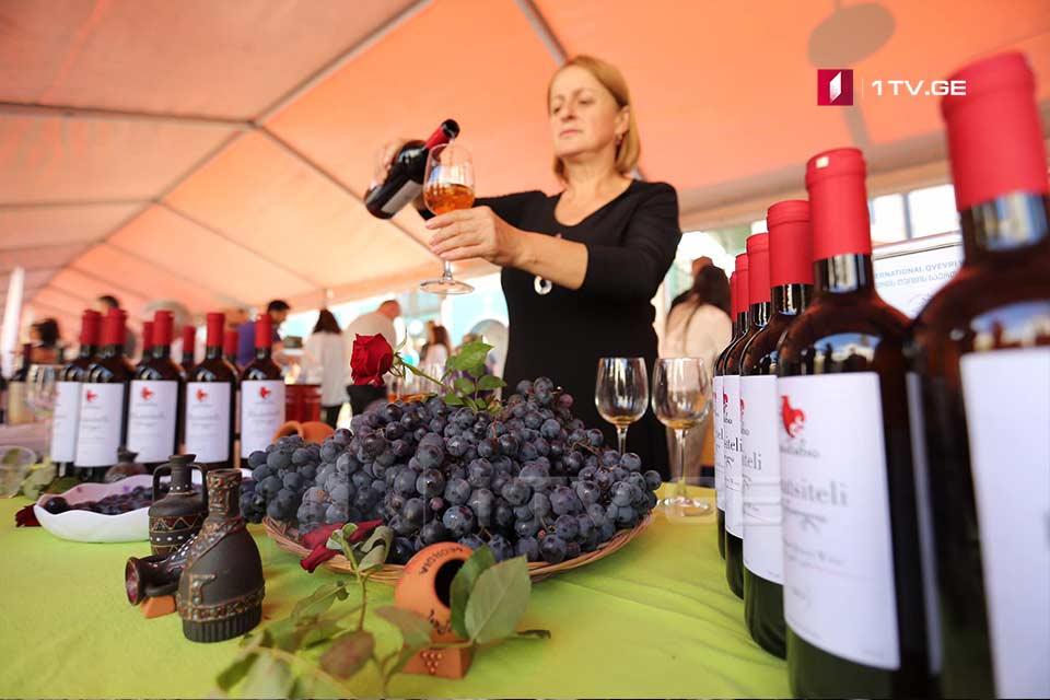 თბილისში ქვევრის ღვინის ფესტივალი იმართება