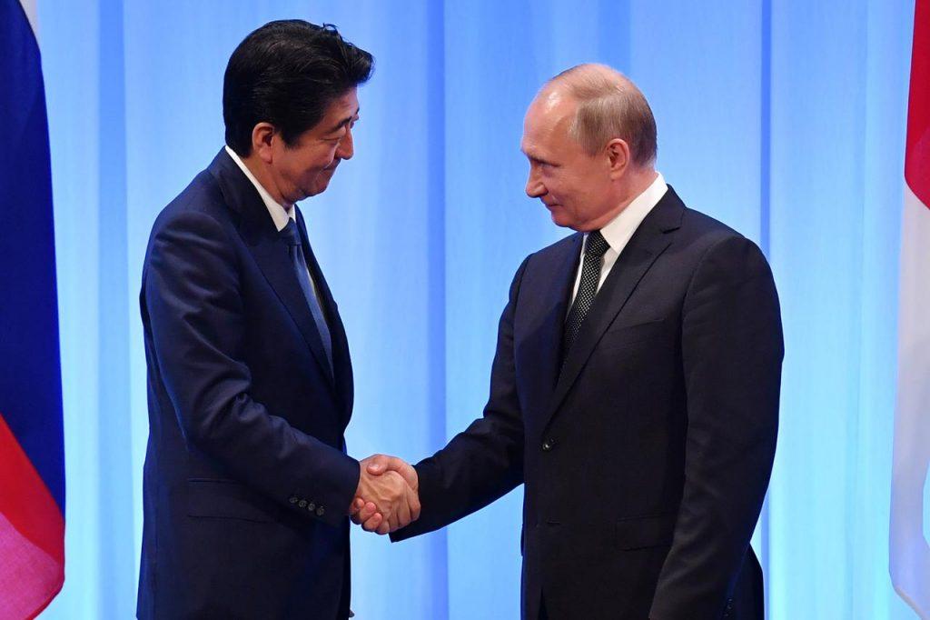 იაპონიის პრემიერ-მინისტრი მიმდინარე კვირაში რუსეთის პრეზიდენტთან შეხვედრას გეგმავს