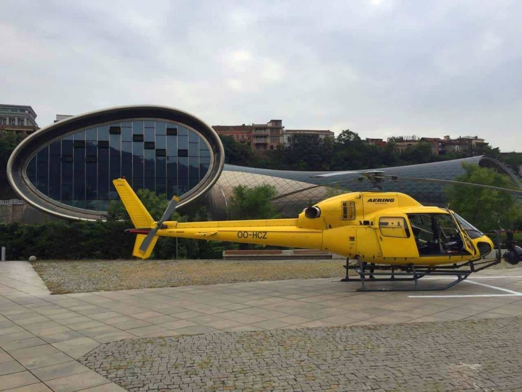 "Helicopter to be involved in shooting of ""Fast and Furious 9"" episodes [Photo]"