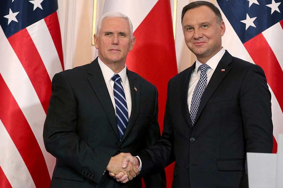 მაიკ პენსი - აშშ-ის პრეზიდენტი პოლონეთში შესაძლოა, შემოდგომაზე ჩავიდეს