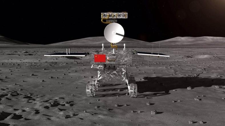 """ჩინეთის მავალმა მთვარის """"ბნელ მხარეს"""" გელის მსგავსი უცნაური ნივთიერება იპოვა"""