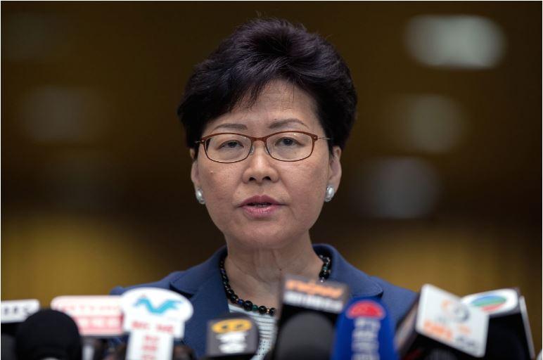 ჰონგ-კონგის ლიდერი უარყოფს ინფორმაციას, თითქოს გადადგომის უფლებას ჩინეთის მთავრობა არ აძლევს