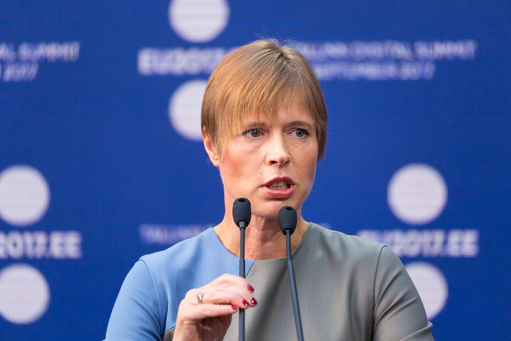 President of Estonia – Main reason why European Union should offer membership to Georgia is occupied territory of Georgia