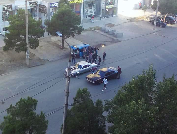 Shooting of American action film ongoing in Rustavi (Photo)