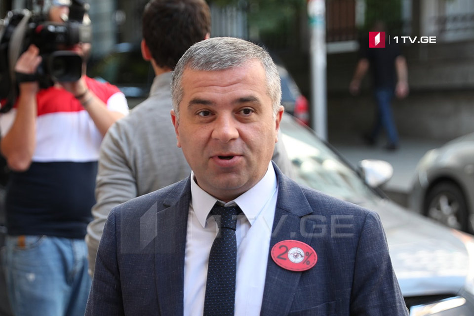 Davit Bakradze - The protest willcontinue until the government takes concrete steps to ease the crisis
