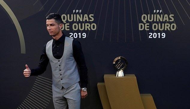 კრიშტიანუ რონალდუ მეათედ გახდა პორტუგალიის საუკეთესო ფეხბურთელი