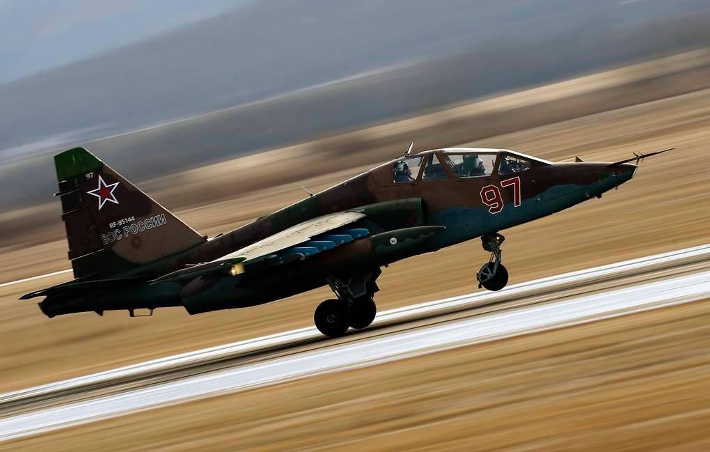 На Северном Кавказе разбился российский штурмовик Су-25УБ