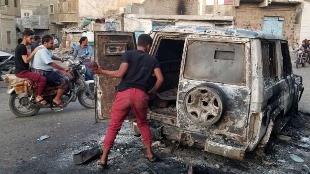 გაერო-ს ექსპერტები - დასავლური ძალები შესაძლოა იემენში ომის დანაშაულში არიან პასუხისმგებლები