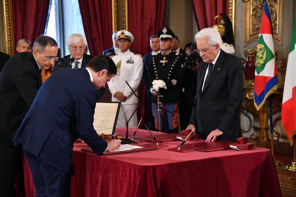 იტალიის ახალმა მთავრობამ პრემიერ-მინისტრ ჯუზეპე კონტეს მეთაურობით ფიცი დადო
