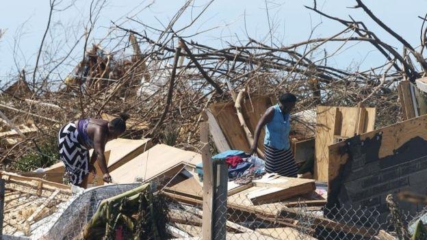"""ბაჰამაში ქარიშხალ """"დორიანის"""" შედეგად დაღუპულთა რიცხვი 30-მდე გაიზარდა"""