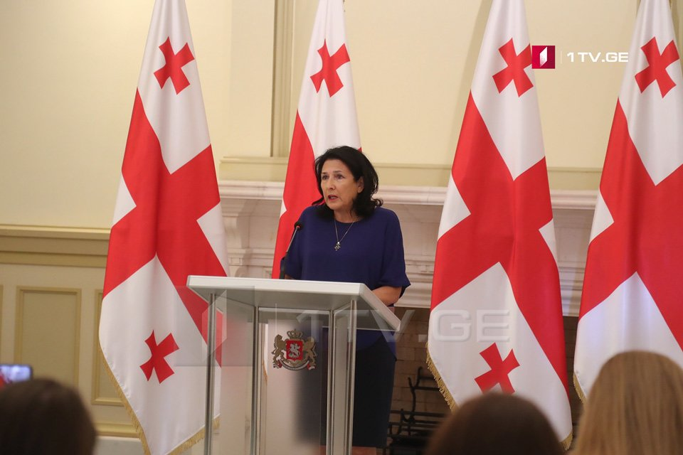 Salome Zurabishvili:  I promise not to allow President's attitude towards police to be called into question