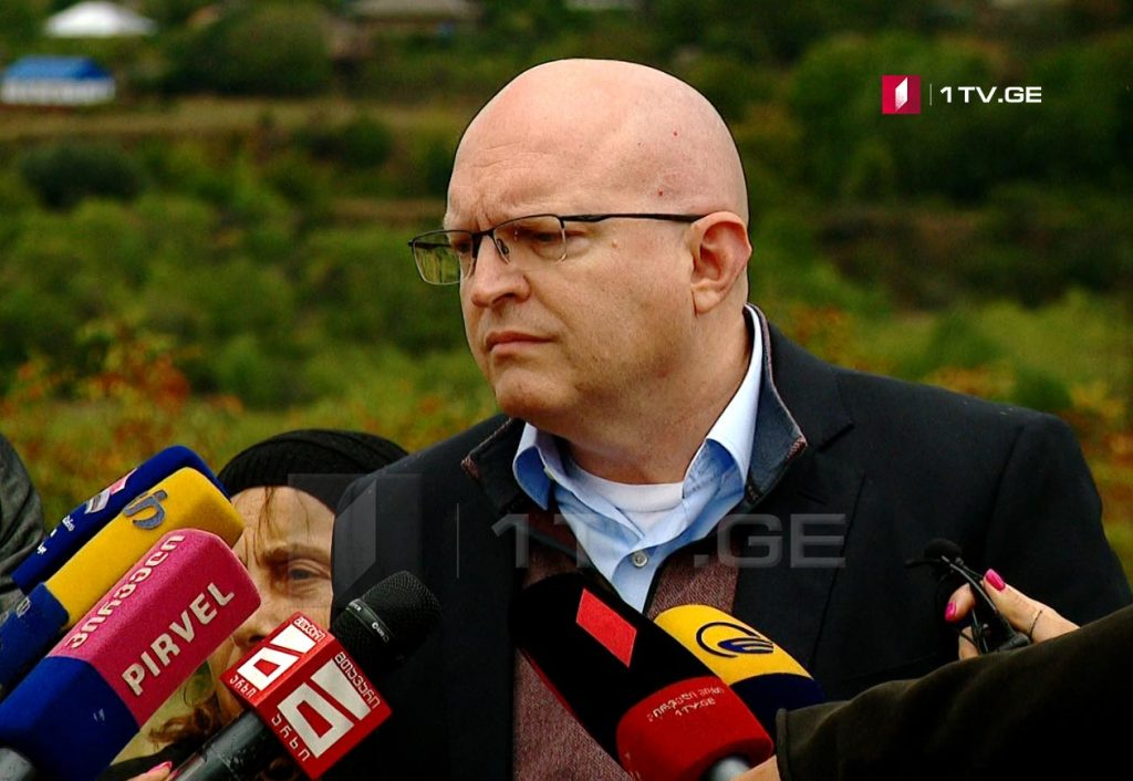 Филипп Рикер - Размещение российских военных на оккупированной территории Грузии вызывает большую встревоженность в США