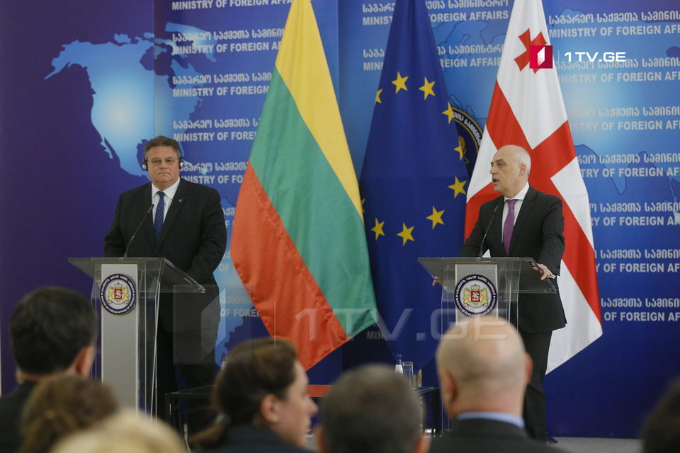 Linas Linkevicius - I would like to strongly condemn all the actions related to the so-called elections and borderization