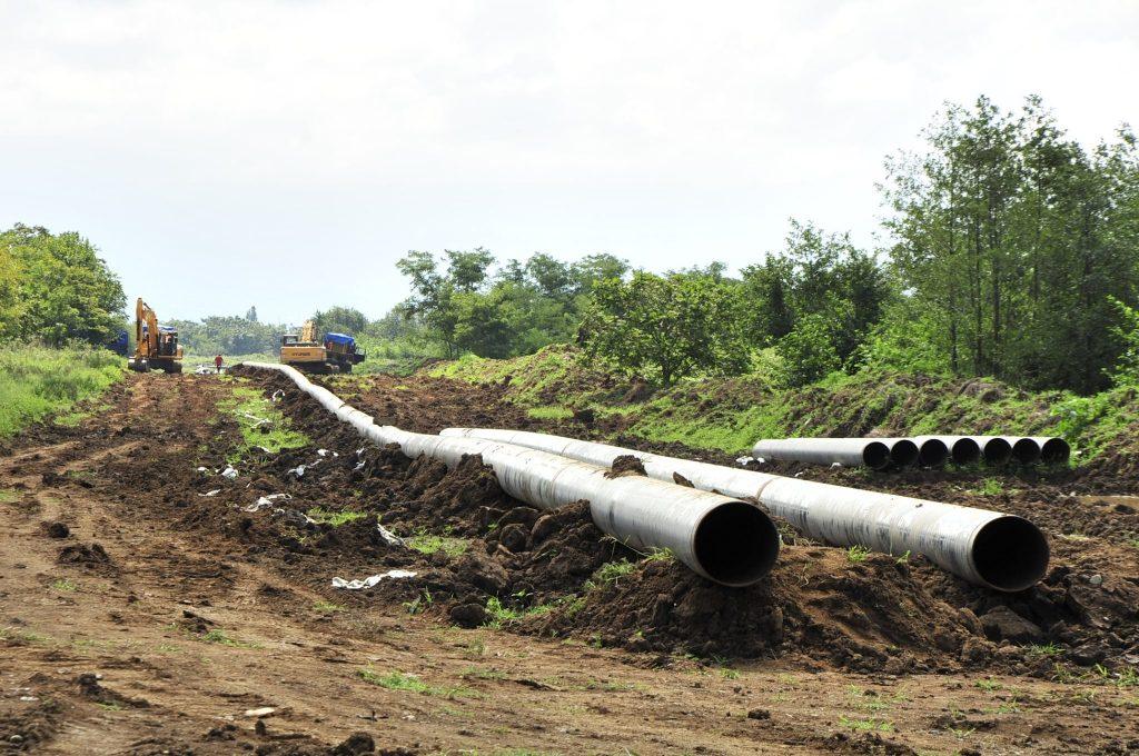 ნავთობისა და გაზის კორპორაცია ქობულეთთან გაზსადენის ახალ მონაკვეთს აშენებს