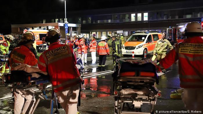 დიუსელდორფის ერთ-ერთ საავადმყოფოში ხანძრის შედეგად ერთი პაციენტი დაიღუპა, 20 კი დაშავდა