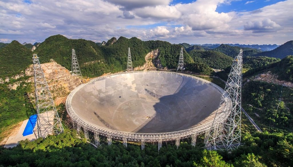 ჩინეთის გიგანტურმა ტელესკოპმა იდუმალი კოსმოსური სიგნალები დააფიქსირა