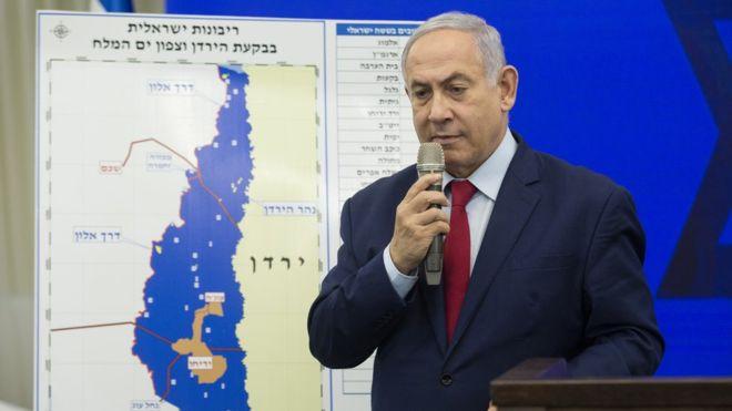 არაბული ქვეყნების ლიგა ბენიამინ ნეთანიაჰუს გეგმას დასავლეთ სანაპიროზე ისრაელის სუვერენიტეტის გავრცელებასთან დაკავშირებით აგრესიად აფასებს
