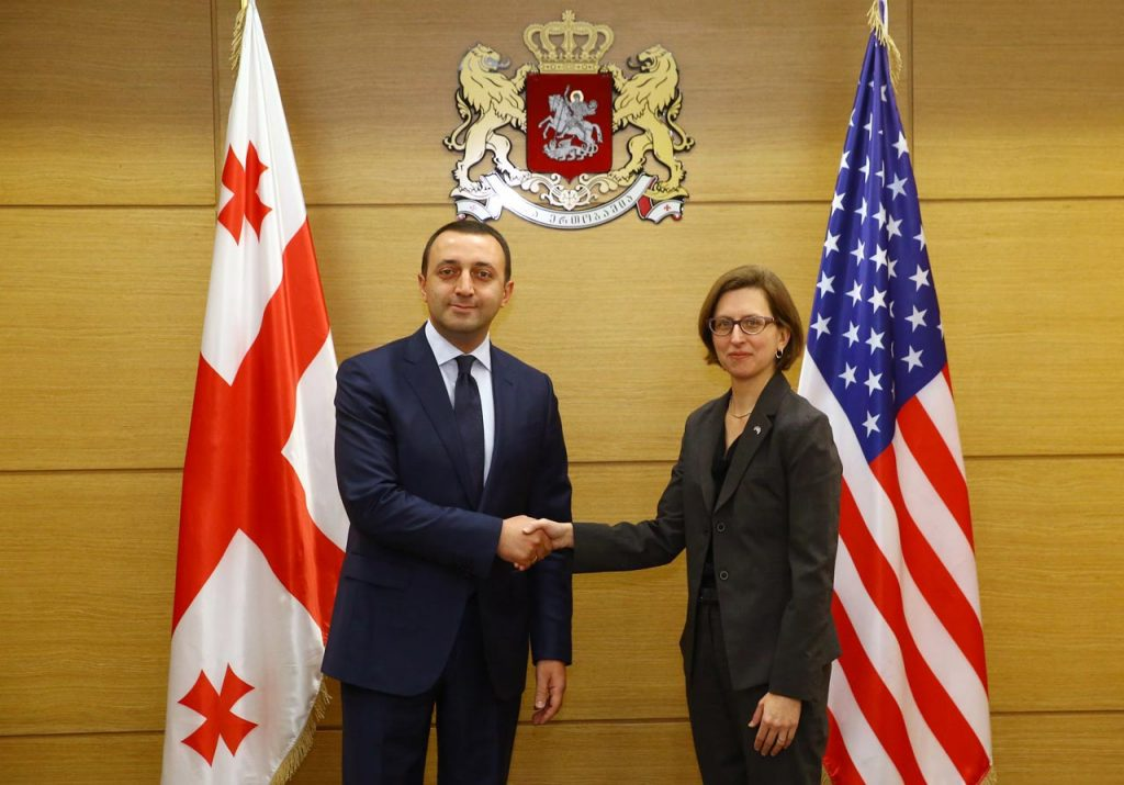 Irakli Gharibashvili met with Deputy Assistant Secretary of Defense