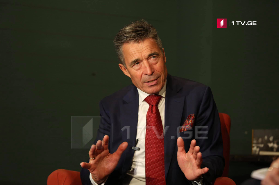 Anders Fogh Rasmussen: I suggest to break stalemate around Georgia/NATO membership