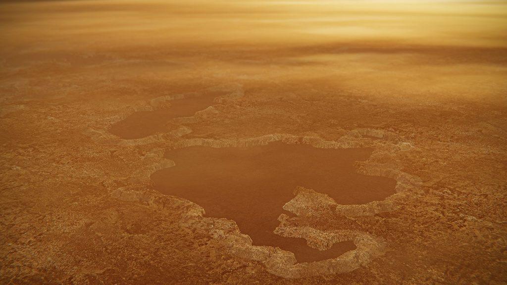 ტიტანის უცნაური, პატარა ტბები აფეთქებათა შედეგად არის წარმოქმნილი - ახალი კვლევა