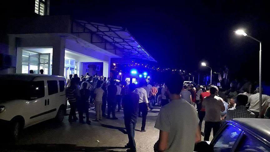 თურქეთში აფეთქების შედეგად სულ მცირე, ოთხი ადამიანი დაიღუპა და 13 დაშავდა