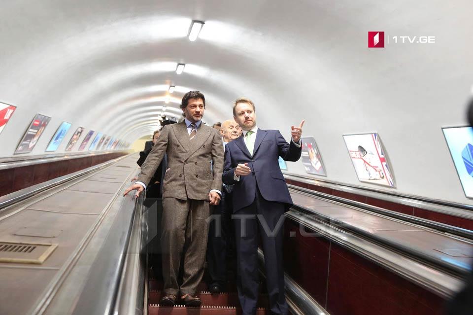 Каха Каладзе и Джастин Маккензи Смит открыли британский сезон в Тбилиси [фото]
